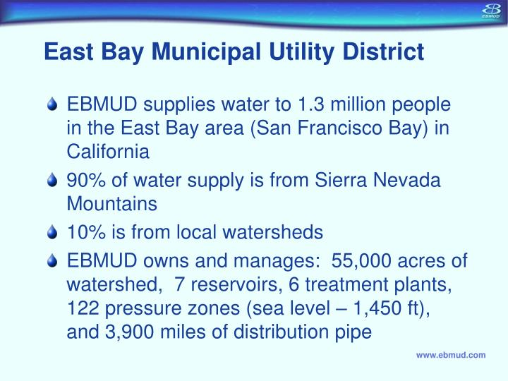 East Bay Municipal Utility District