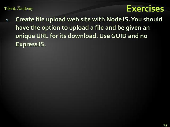Create file upload web site