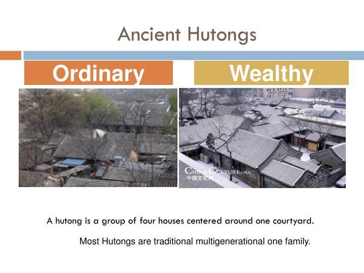 Ancient Hutongs
