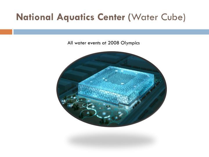 National Aquatics Center (