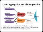 cidr aggregation not always possible