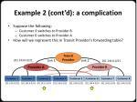 example 2 cont d a complication