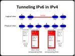 tunneling ipv6 in ipv41