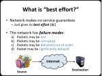 what is best effort