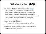 why best effort be