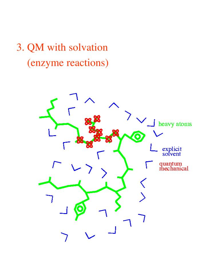 3. QM with solvation