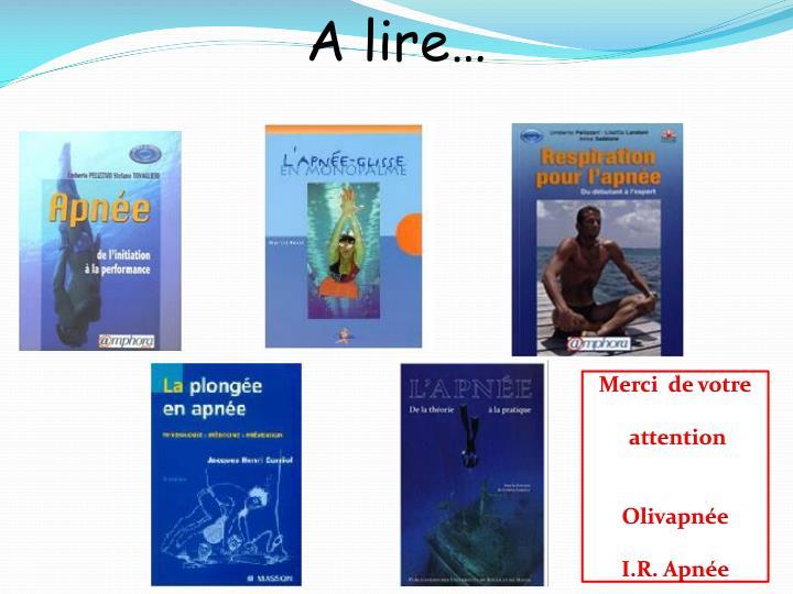 A lire…
