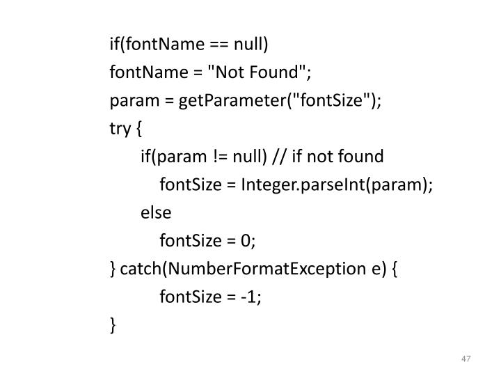 if(fontName == null)