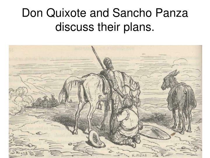 don quixote and sancho panza relationship quizzes