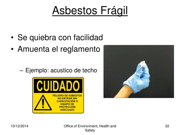 Asbestos Frágil