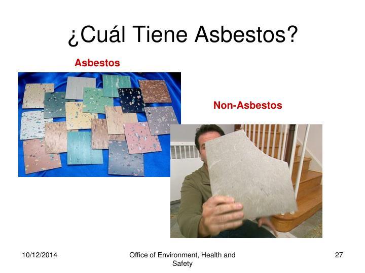 ¿Cuál Tiene Asbestos?