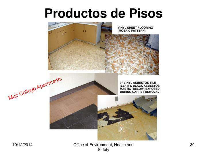Productos de Pisos