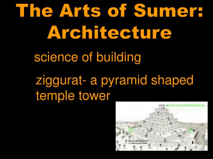 The Arts of Sumer: