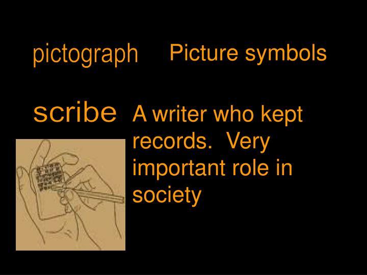 Picture symbols