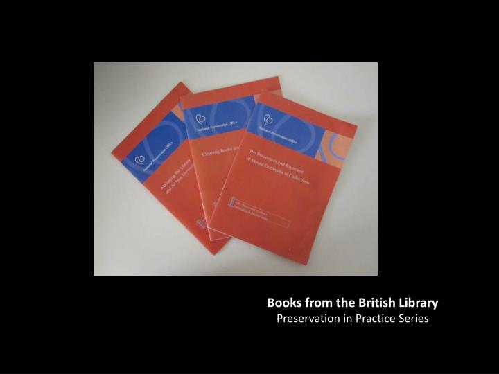 Books from the British Library