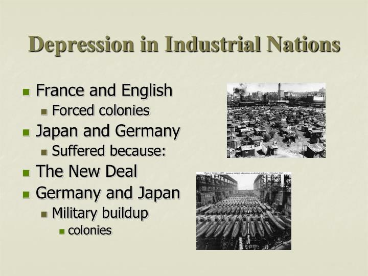 Depression in Industrial Nations