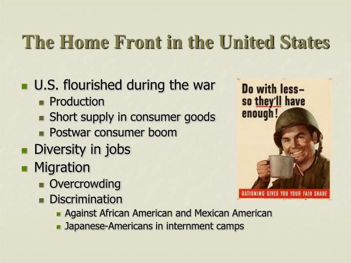 The Home Front in the United States