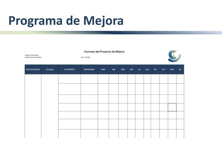 Programa de