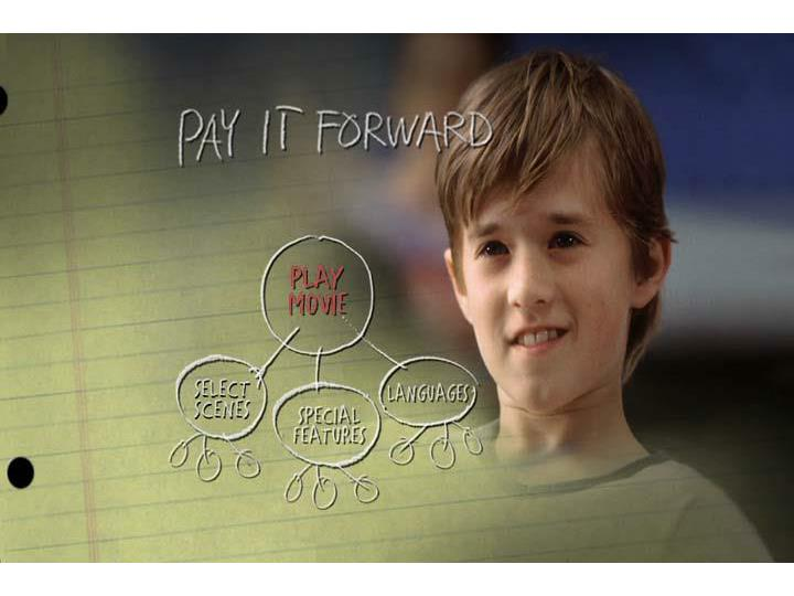 Pay It Forward – Play movie clip