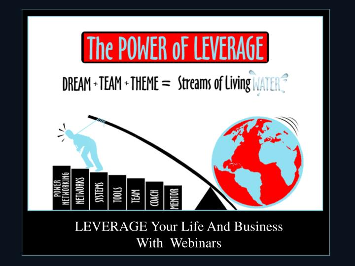 LEVERAGE Your Life And Business