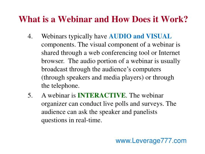 What is a Webinar and How Does it Work?