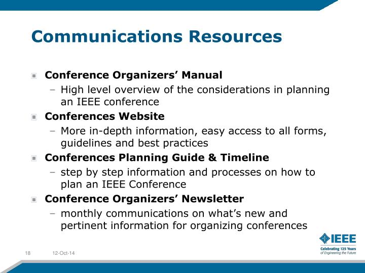 Communications Resources