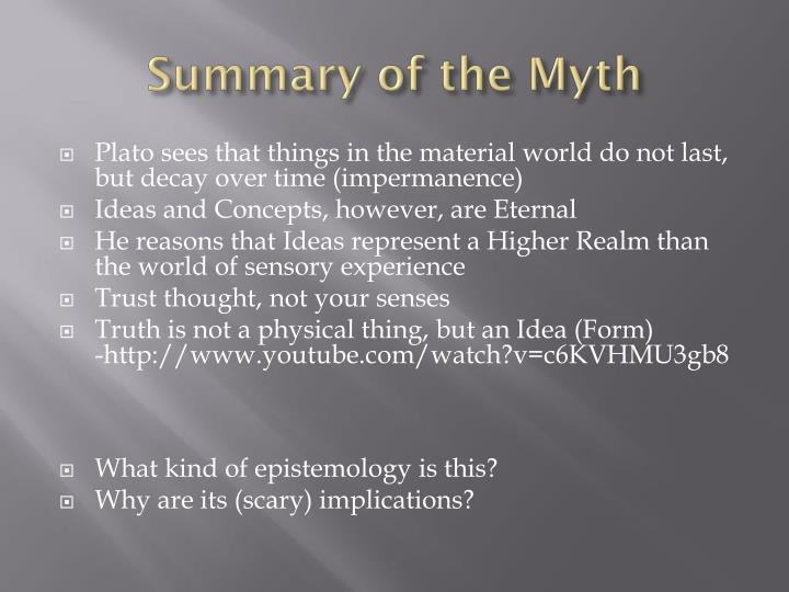 Summary of the Myth