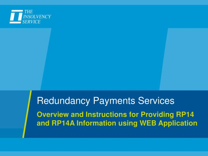 Redundancy Payments Services
