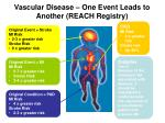 vascular disease one event leads to another reach registry