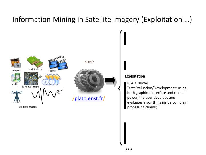 Information Mining in Satellite Imagery (Exploitation …)