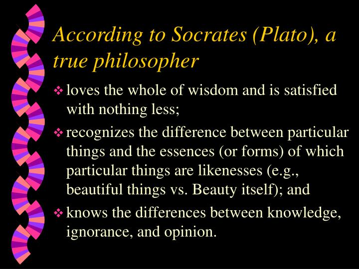 the definition of beauty according to plato and socrates Debra nails, the people of plato α prosopography of plato and other socratics.