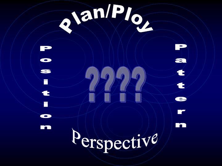 Plan/Ploy