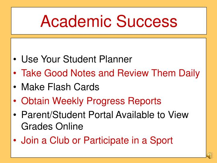 Academic Success