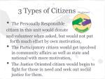 3 types of citizens westheimer