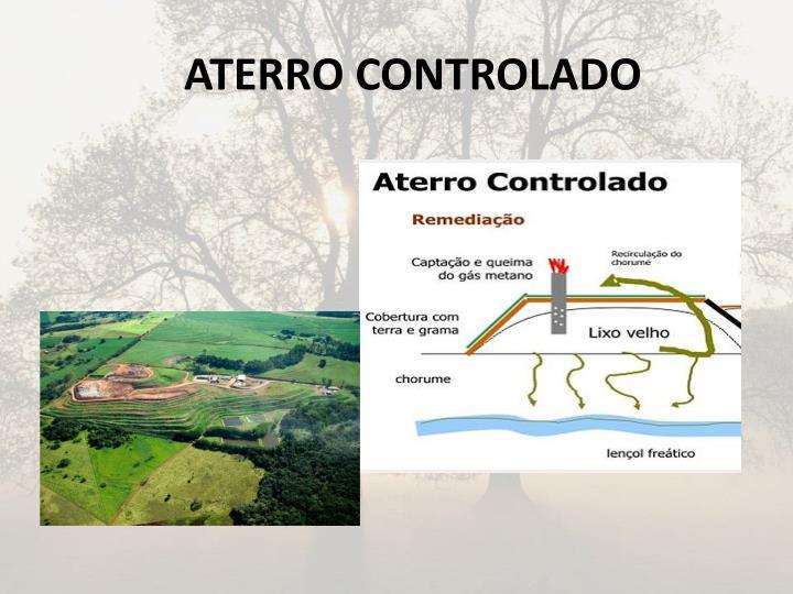 ATERRO CONTROLADO