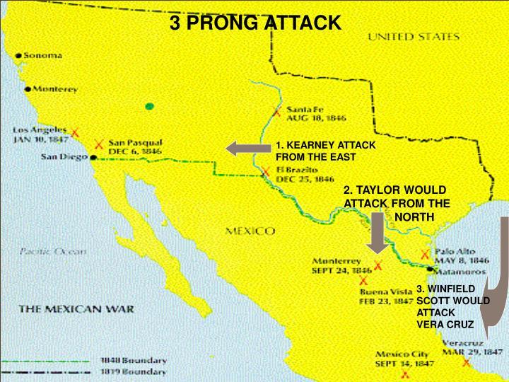 3 PRONG ATTACK