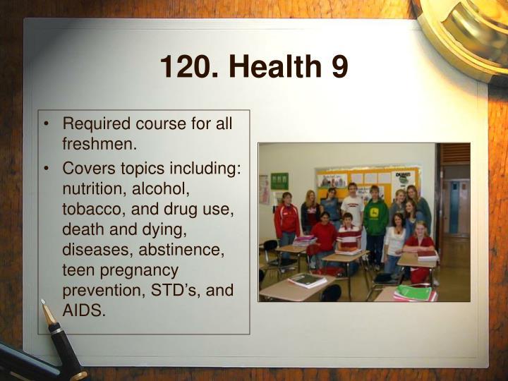 120. Health 9