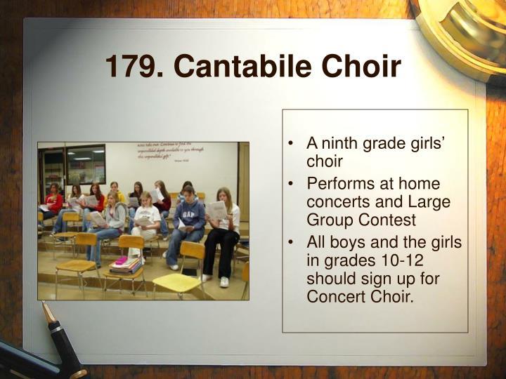 179. Cantabile Choir