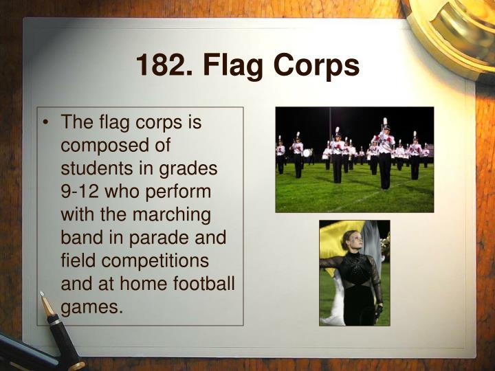 182. Flag Corps