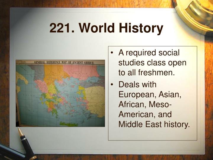 221. World History