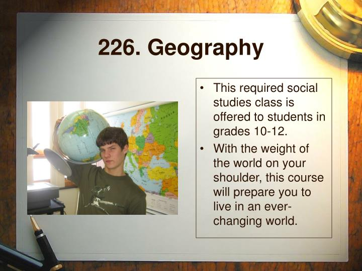 226. Geography