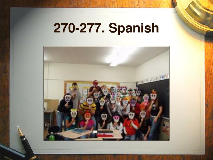 270-277. Spanish