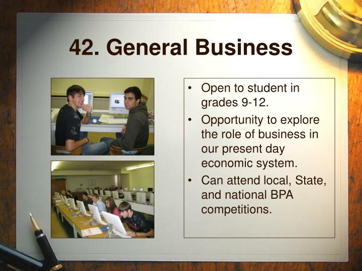 42. General Business