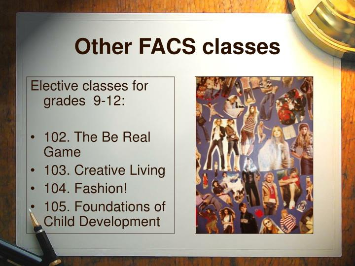Other FACS classes
