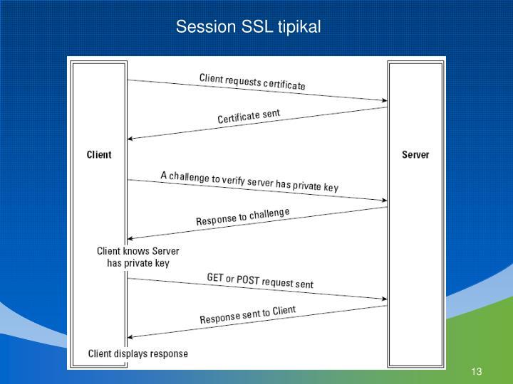 Session SSL tipikal