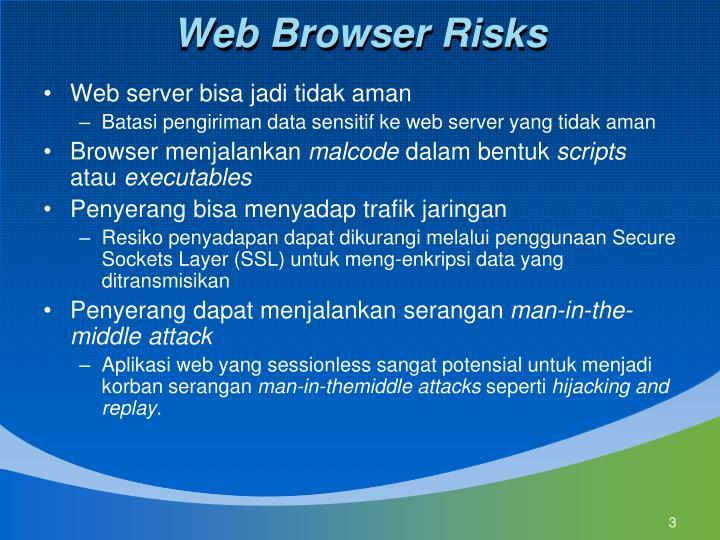 Web Browser Risks