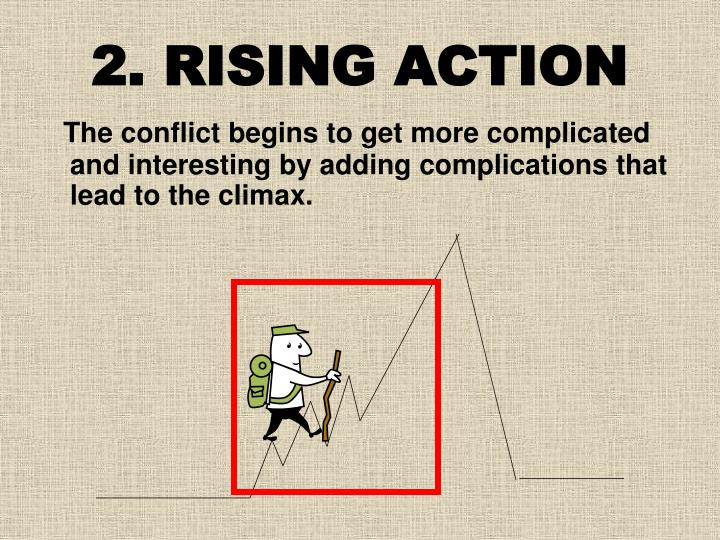 2. RISING ACTION