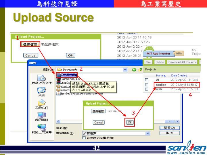 Upload Source