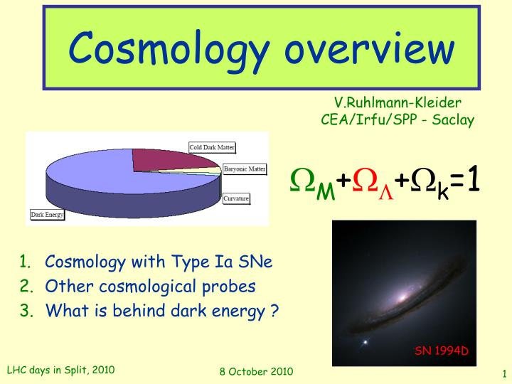 Cosmology overview