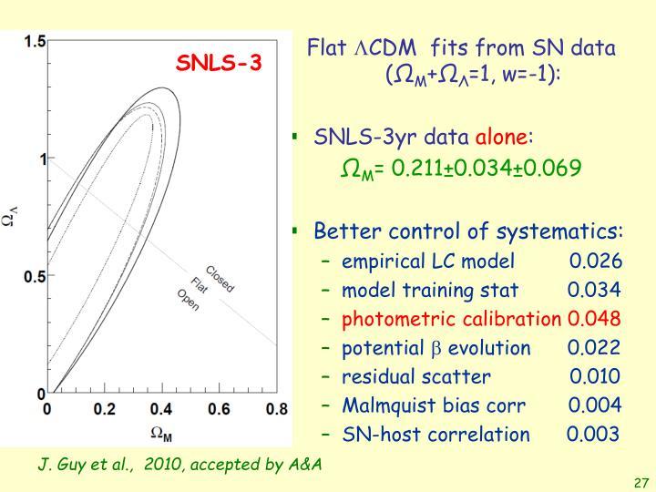 SNLS-3